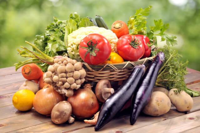 重曹で野菜の発色