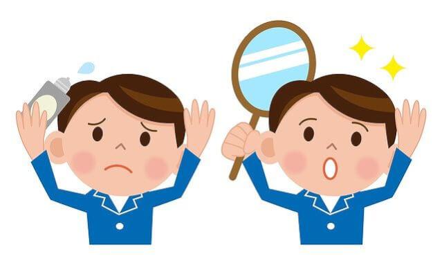 育毛と発毛の原因と対策