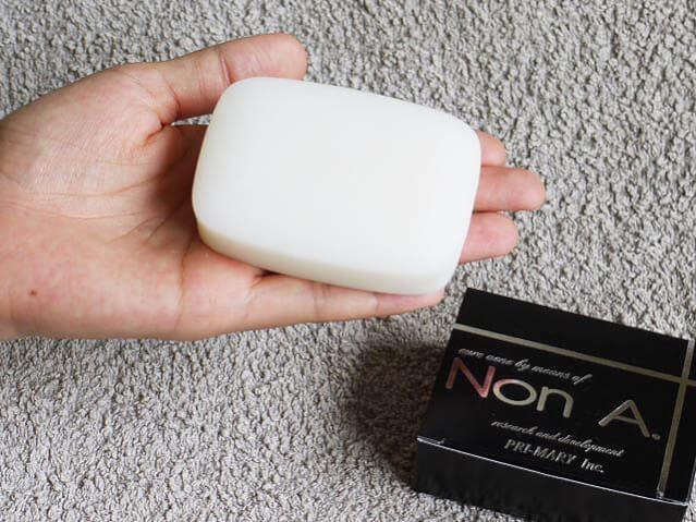 ノンエー石鹸の口コミ効果と購入通販