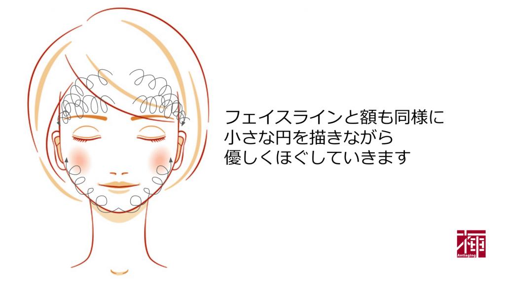 DMAE配合化粧品 たるみマッサージ3