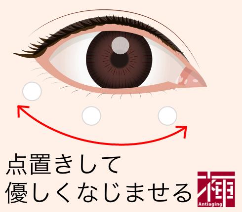 目元の乾燥肌ケア