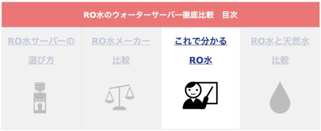 ro ウォーターサーバー 比較