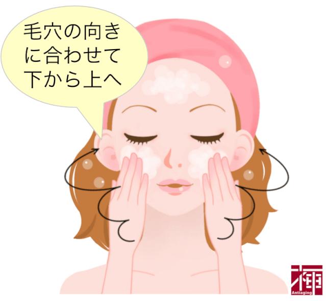 洗顔で乾燥肌対策