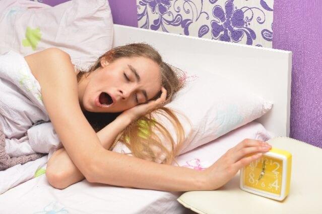 ローズマリー 寝起き