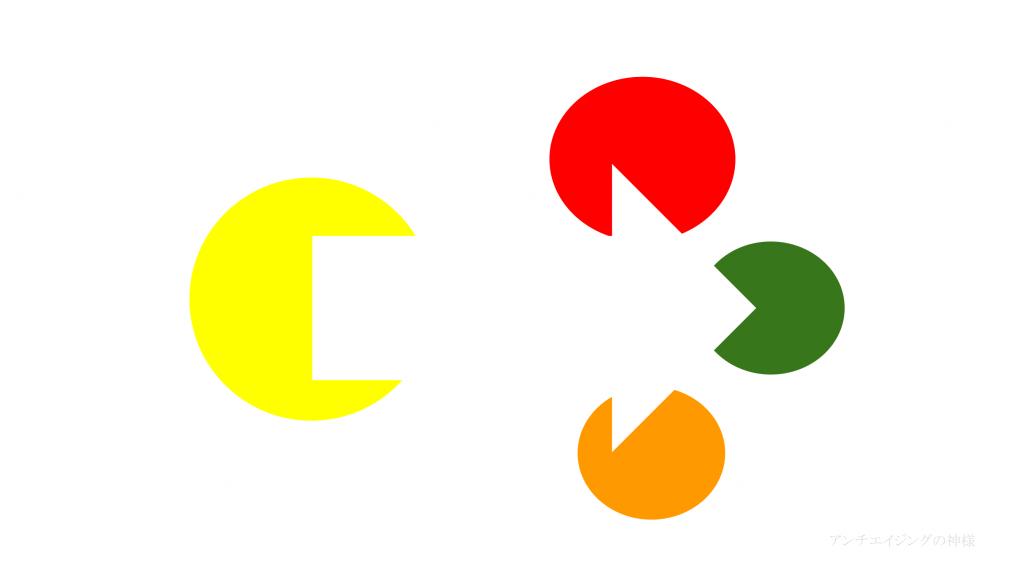 眼の錯覚 主観的輪郭