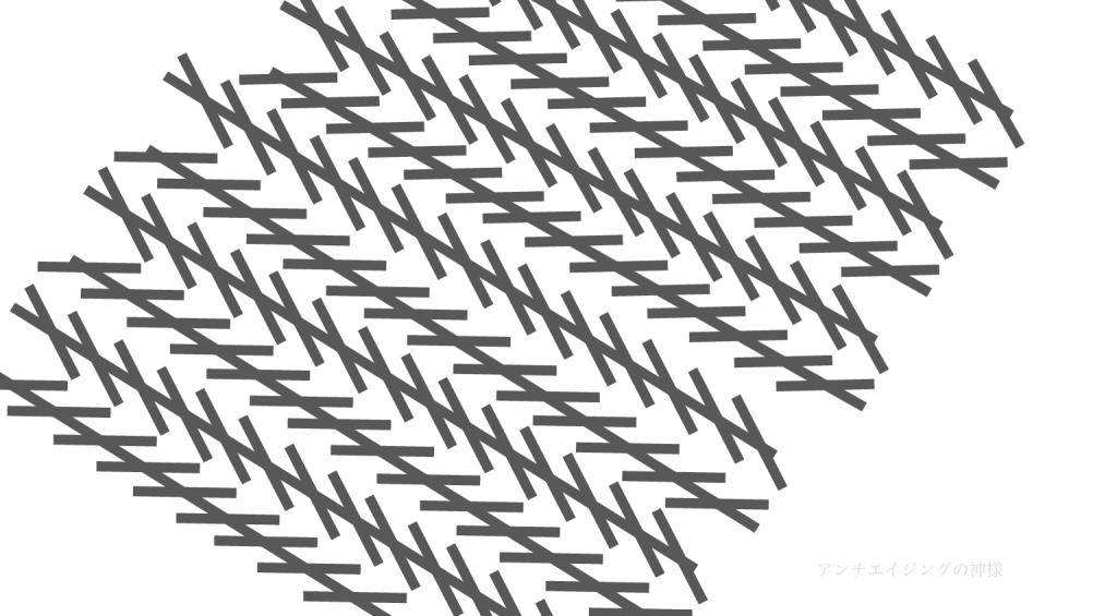 ツェルナー錯視