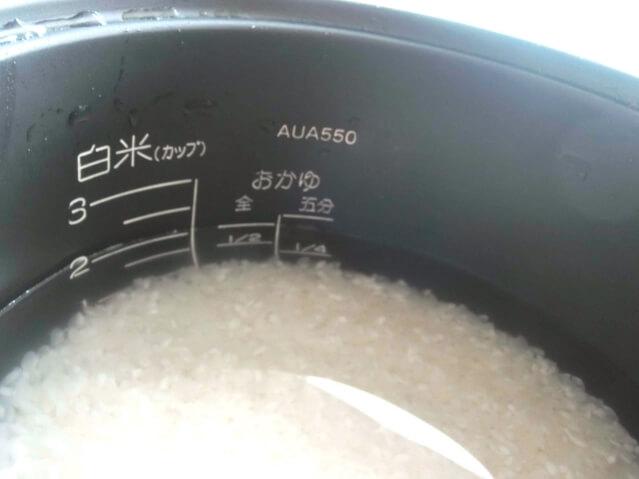 オリーブオイル 米