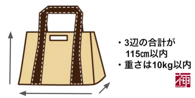 海外旅行 持ち物 手荷物