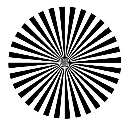 アルファ波を出す画像