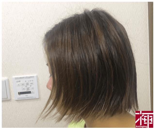ベビーオイル 髪のパサつき防止