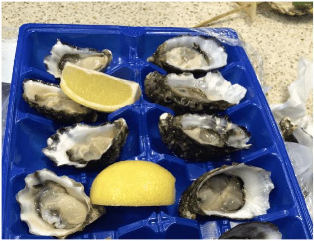 初めての海外旅行 オーストラリア 牡蠣