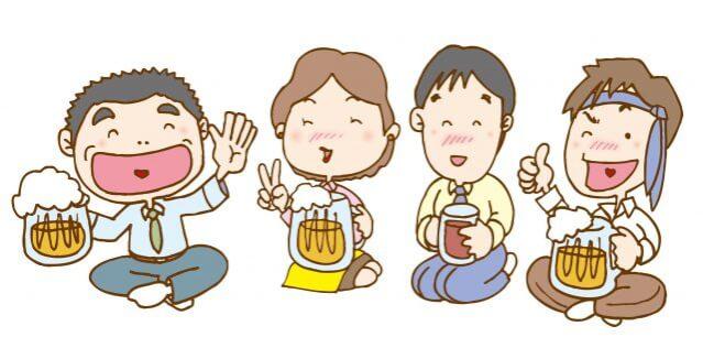 海外文化 路上飲酒