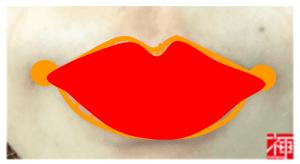 唇ケアメイク