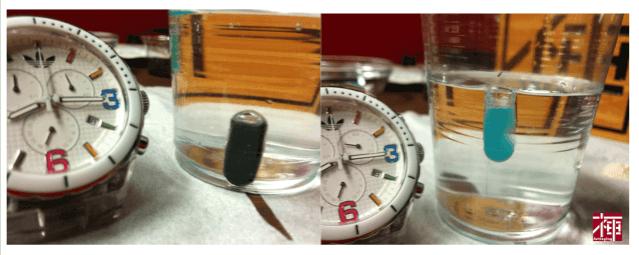 ホコニコのラクトフェリン+乳酸菌 実験 溶ける カプセル 実験