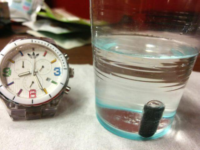 ホコニコのラクトフェリン+乳酸菌 耐熱性実験