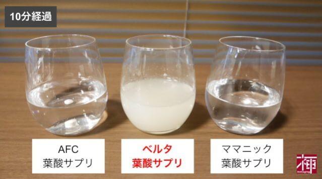 ベルタ葉酸サプリ 口コミ比較