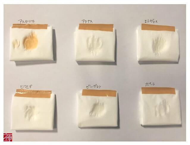 保湿化粧水 実験