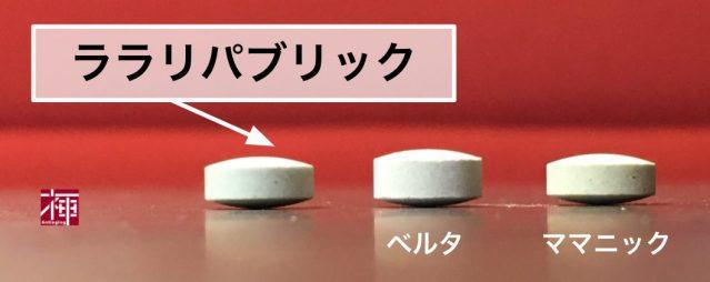 ララリパブリック 葉酸サプリ 口コミ