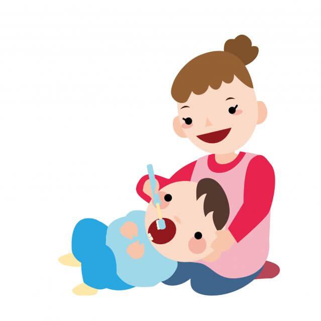 赤ちゃん 歯磨き 磨き方