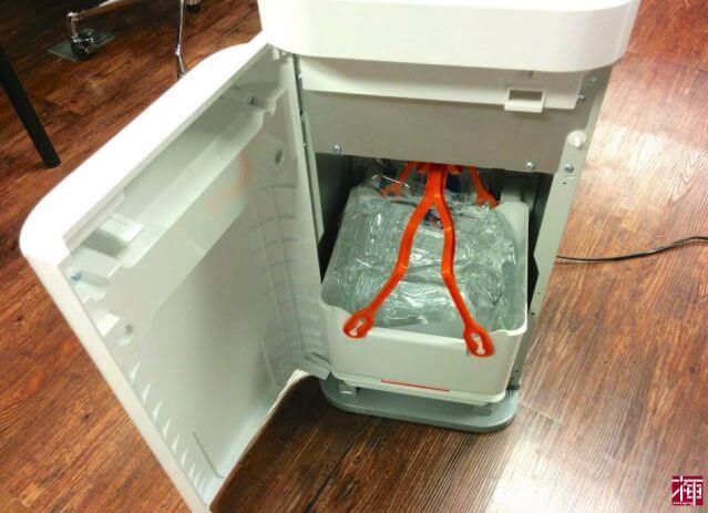 コスモウォータースマートプラス 下置き水交換