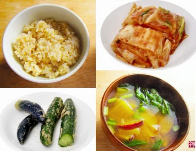 腸内環境 改善 和食 キムチ