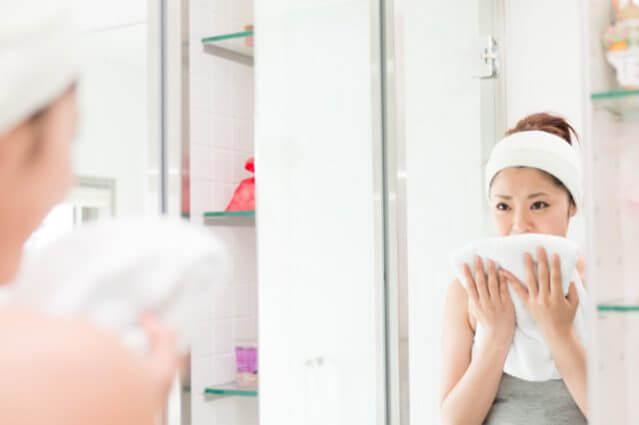 重曹で洗顔