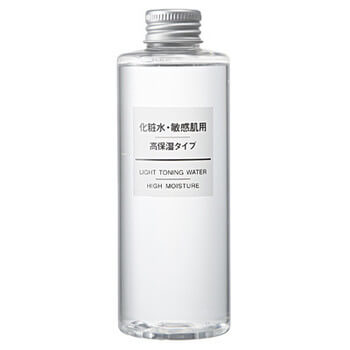 無印良品(化粧水・敏感肌用・高保湿タイプ:666円)