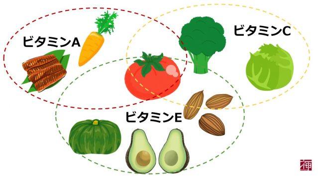ビタミン 食べ物 美肌