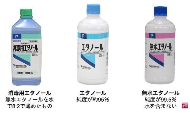 消毒効果 ルームスプレーボトル 消毒用アルコール