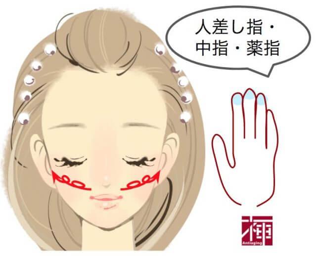 顔のたるみをとる方法 頬
