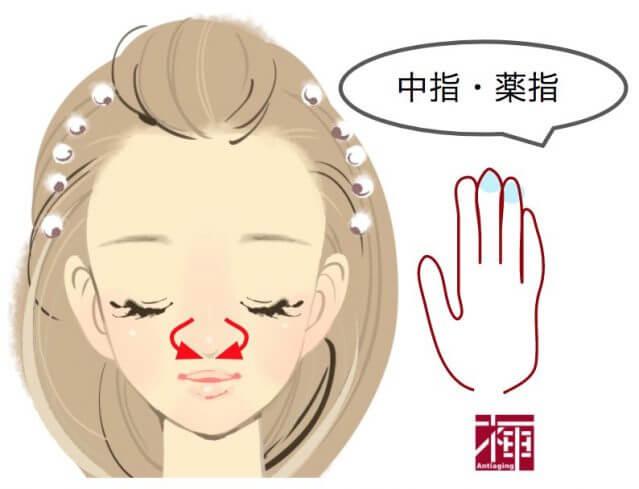 顔のたるみをとる方法 鼻