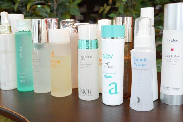 シワに効く化粧水