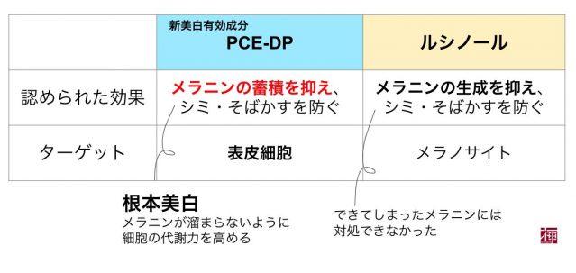 PCE-DP 新美白有効成分